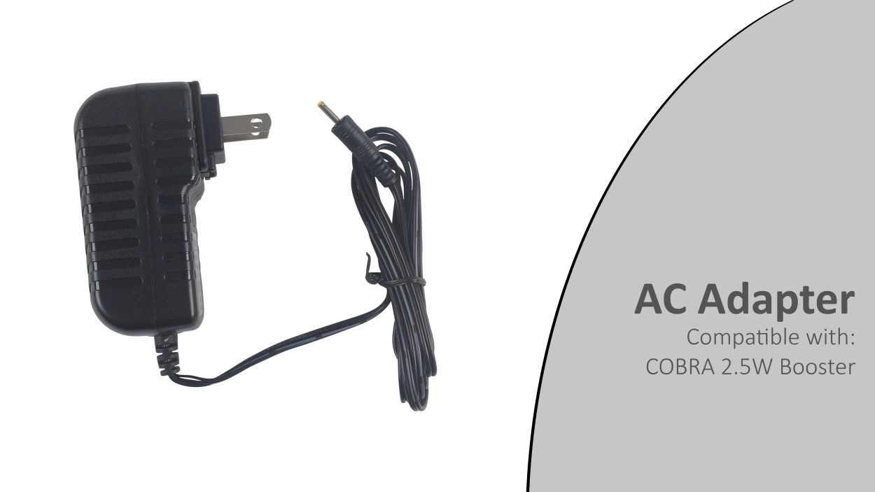 ac adapter for cobra 25w booster
